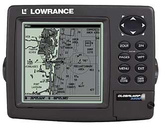 Lowrance GlobalMap 3200