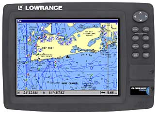 Name brand GPS receivers, fishfinders, marine chart plotters and